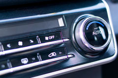 Centrumcontrole van auto Stock Foto's