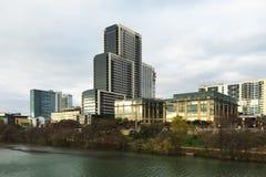 Centrumområdet i Austin, Texas Royaltyfri Foto