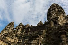 Centrumpogoda in Angkor Wat Royalty-vrije Stock Foto