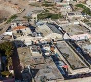 Centrumslumkvarter i Casablanca Royaltyfria Bilder