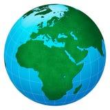 centryczna Europe zieleni planeta Obrazy Stock