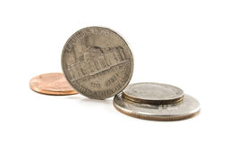 cents Royaltyfri Bild