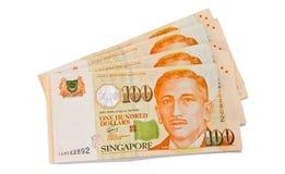 Cents dollars de Singapour Photo libre de droits