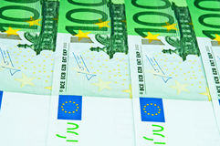 Cents euro factures Photos libres de droits