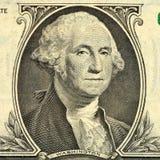 Cents fins de billet d'un dollar vers le haut Argent Illustration Libre de Droits