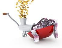 Cents makes money Royalty Free Stock Photo