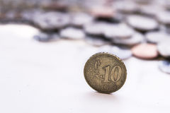 10 cents Royalty Free Stock Images