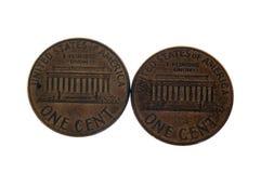 cents två Royaltyfria Foton