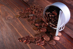 Cents USA Royalty Free Stock Photography