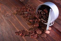 cents USA royaltyfri fotografi