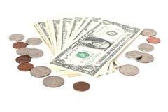 centsdollar oss Fotografering för Bildbyråer
