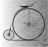 Centu Farthing bicykl Zdjęcia Royalty Free