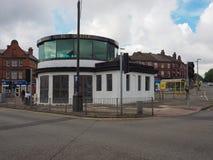 Centu pasa ruchu autobusowy schronienie w Liverpool Obraz Stock