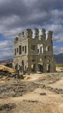 Centum Cellas Tower. A Roman ruin near Belmonte, Portugal Royalty Free Stock Images