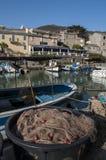 Centuri port, Portowy De Centuri, Haute Corse, przylądek Corse, Corsica, Górny Corsica, Francja, Europa, wyspa Fotografia Royalty Free