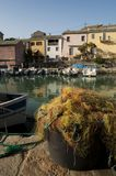 Centuri port, Portowy De Centuri, Haute Corse, przylądek Corse, Corsica, Górny Corsica, Francja, Europa, wyspa Zdjęcie Royalty Free