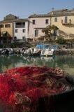 Centuri port, Portowy De Centuri, Haute Corse, przylądek Corse, Corsica, Górny Corsica, Francja, Europa, wyspa Obrazy Stock