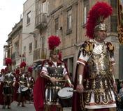 Centurion. LUQA, MALTA - 10 APR 2009 - Roman centurion during the Good Friday procesion in Luqa in Malta Stock Image