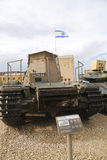 Centurion Beach Armoured Recovery Vehicle on display stock images