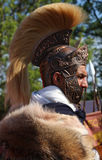 Centurion - generalen av forntida Roman Army royaltyfri fotografi