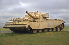 Centurion Mk V AVRE 165. Centurion Mark V Assault Vehicle Royal Engineers is last version of Centurion tank to serve in the British Army. This vehicle served in stock photo