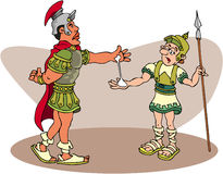 Centurion romano Fotografia de Stock Royalty Free