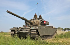 Centurion tank waiting Stock Photos