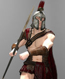 Centurion Warrior. 3d Render of a Roman Centurion warrior Stock Photography