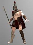 Centurion Warrior. 3d Render of a Roman Centurion warrior Royalty Free Stock Photos