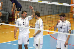 Centurions Narbonne vs Paris Volley Stock Images