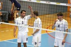 Centurions Narbonne vs Paris Volley Stock Images