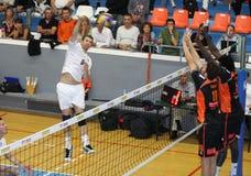 Centurions Narbonne vs Paris Volley Stock Image