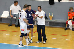 Centurions Narbonne vs Paris Volley Royalty Free Stock Photo