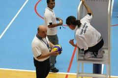 Centurions Narbonne vs Paris Volley Stock Photos