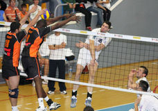 Centurions Narbonne vs Paris Volley Stock Photo