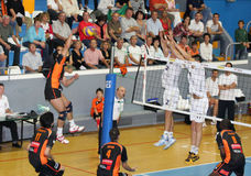 Centurions Narbonne vs Paris Volley Royalty Free Stock Image