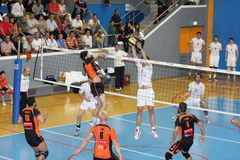 Centurions Narbonne vs Paris Volley Royalty Free Stock Images
