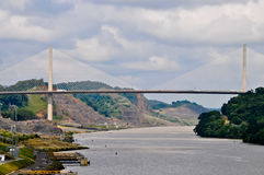 Century bridge in Panama Royalty Free Stock Photo