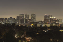 Century City Night Royalty Free Stock Photo
