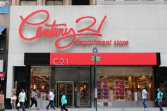 Century 21 Department Store Stock Photo