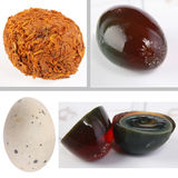 Century egg Stock Photography