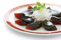 Century egg , chinese food Royalty Free Stock Photo