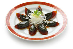 Century egg , chinese food Stock Photos