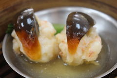 Century egg dim sum Stock Photos