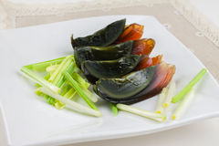 Century egg Stock Images
