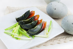 Century egg Royalty Free Stock Photo