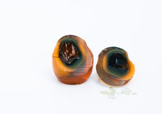 Century eggs Royalty Free Stock Photo