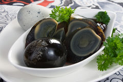 Century Eggs Royalty Free Stock Photos