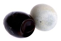 Century Eggs Stock Photo