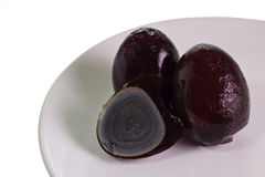 Century Eggs Royalty Free Stock Images